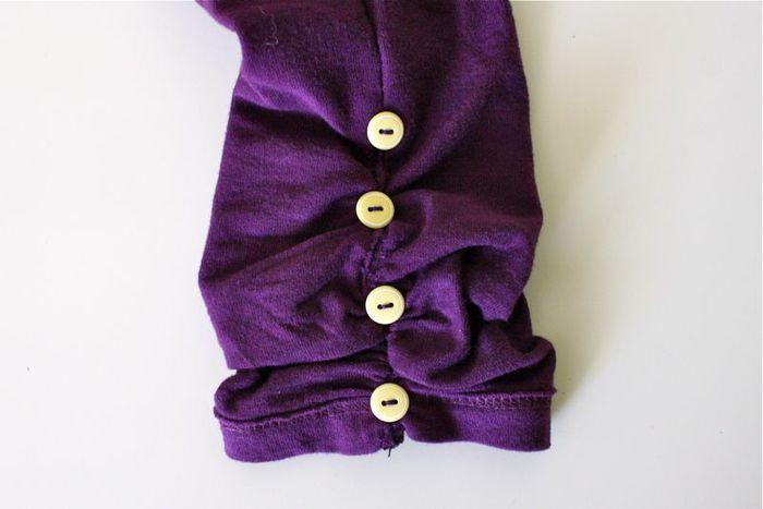 Как украсить платье бусинками своими руками