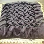 как сшить подушку с буфами