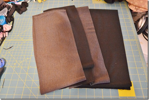 Как сделать из трикотажного  юбку