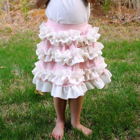 Как сшить пышную юбку из сетки? Нарядная обновка