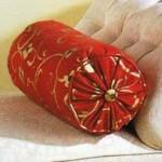 подушка валик своими руками