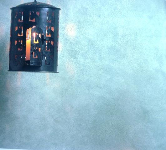 покраска стен губкой