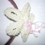 цветок макраме
