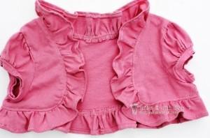 Автор: admin / Рубрики: детская одежда. Сшить болеро для девочки быстро