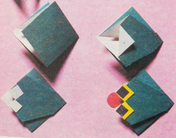 как сделать лягушку оригами