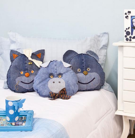 как сшить детскую подушку