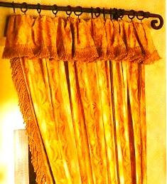 штора с ламбрекенами