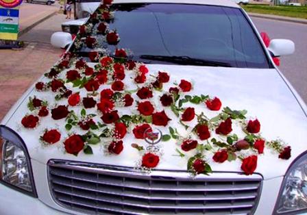 Как украсить машины своими руками на свадьбу