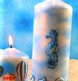 декупаж свеч своими руками