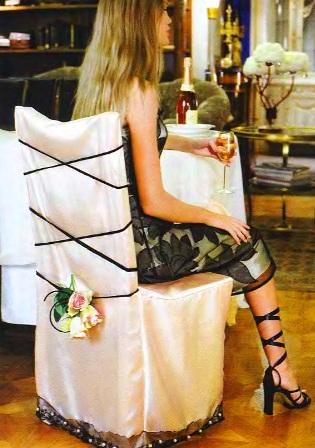 чехлы на стулья на свадьбу