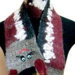 шарф из шерсти
